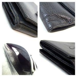 Chanel Bags - Auth Chanel Cc Mark Wallet Caviar Skin #1640C66